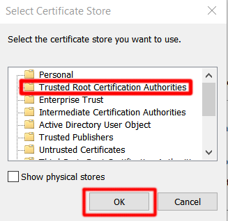 Trusted Root Authority
